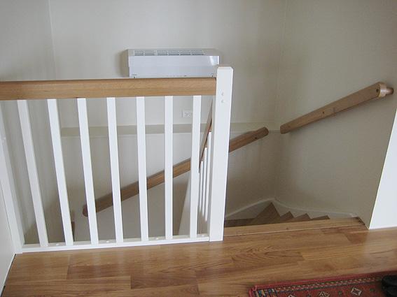 rund ledstång till trappa